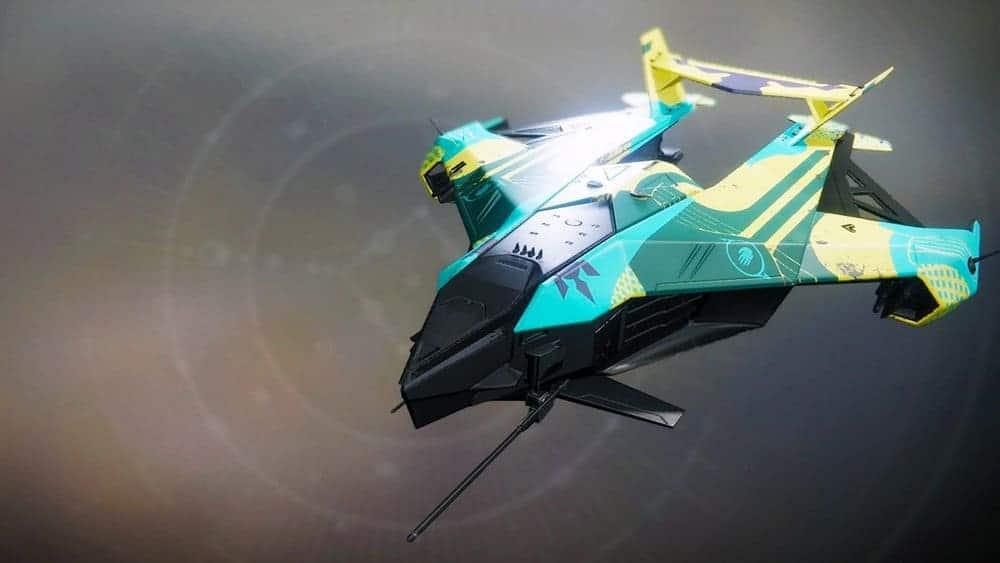 Ódrerir ship Destiny 2