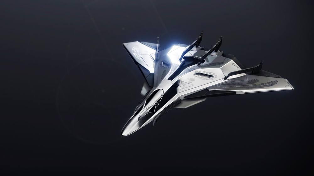 Radiant Accipiter ship Destiny 2