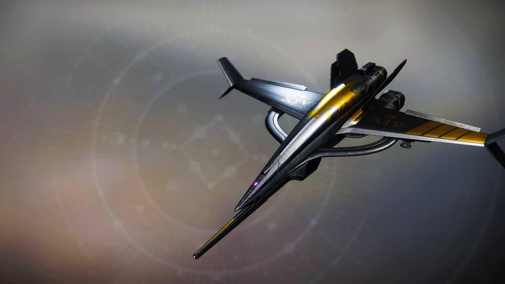Saint's Invocation ship Destiny 2