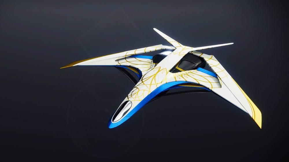 Silverwing Kestrel ship Destiny 2