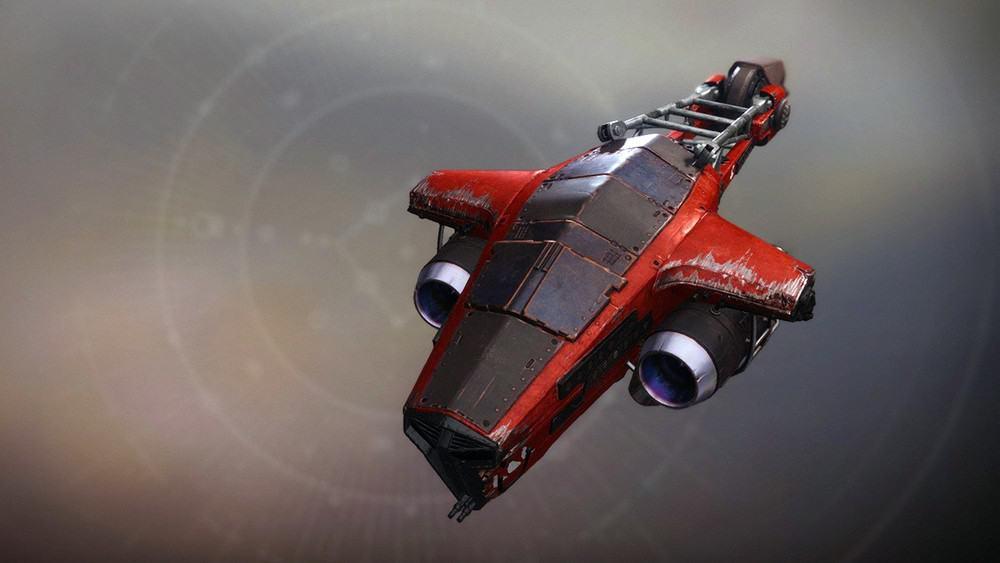 Skulking Fox ship Destiny 2