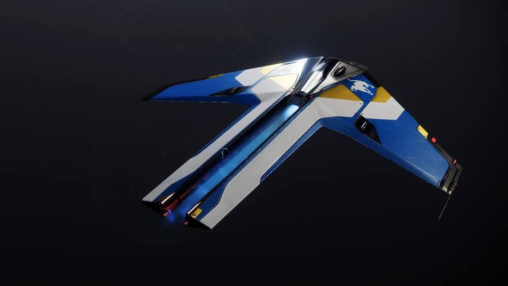 Synchrotron Advancer ship Destiny 2