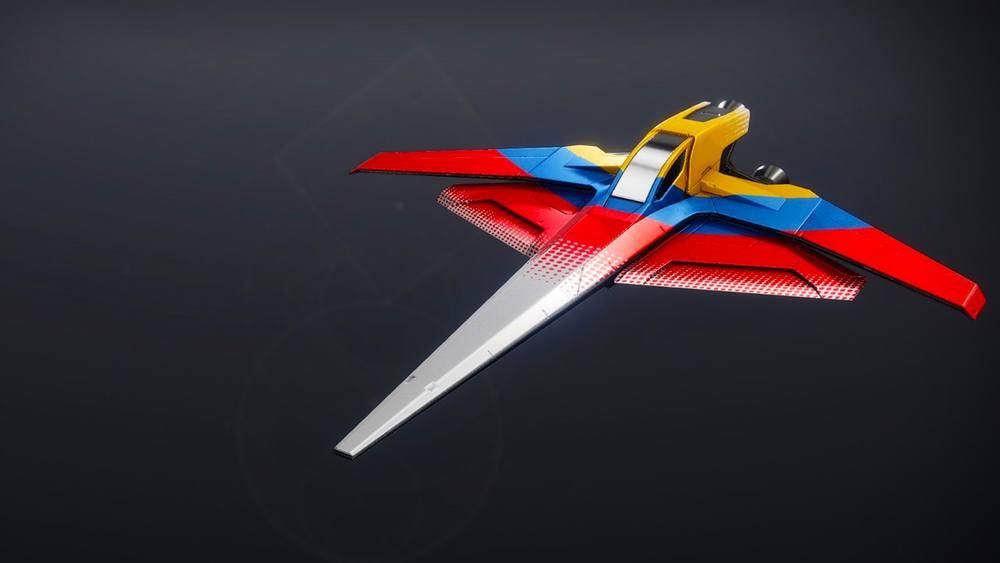 The Frontrunner ship Destiny 2