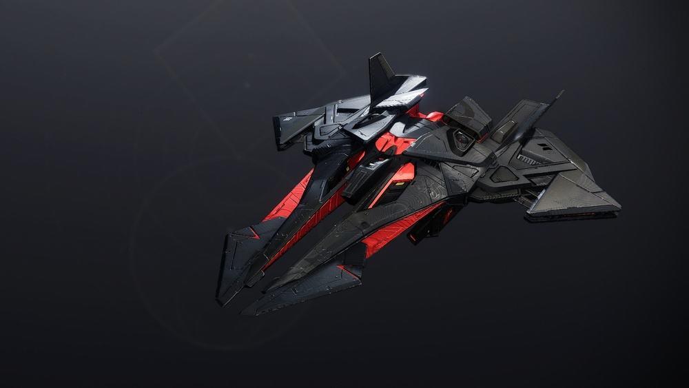 The Platinium Starling ship Destiny 2 v2
