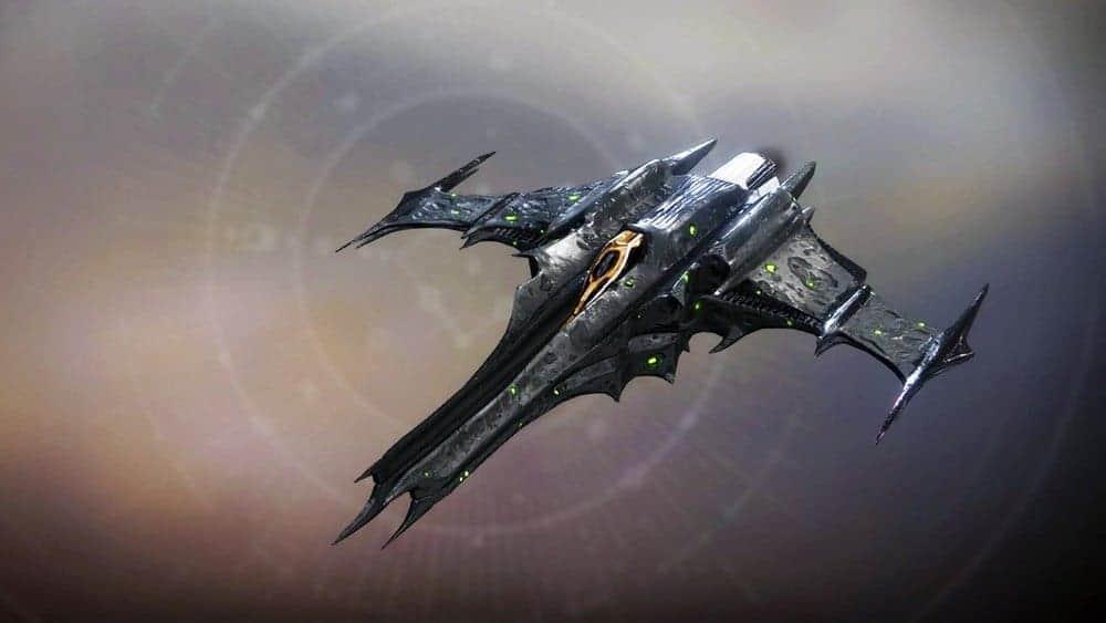 Unfinal Shapes ship Destiny 2