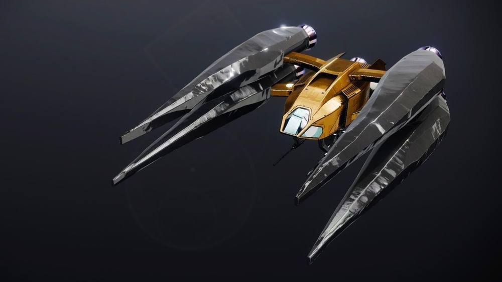 Vaultstrider ship Destiny 2