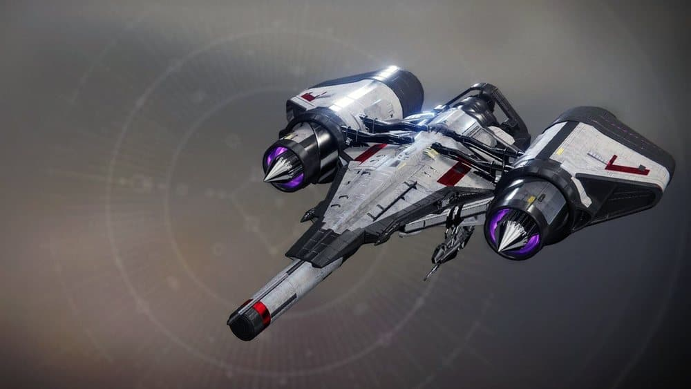 Zavala's Authority ship Destiny 2